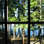 View of Suttle Lake from the window of our room
