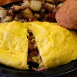 build your own omelet!
