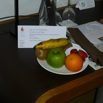Welcome fruit plate