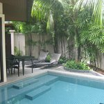  your own plunge pool in the pool villa