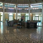  Front desk/Lobby area (original front entrance)