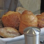  Bread basket at breakfast