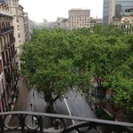  view down passeig de gracia