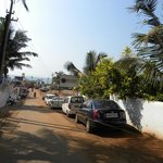 Way to Baga Beach