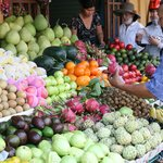 the local food market in Hoi An, which you visit in the morning