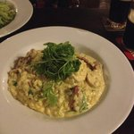 Chicken and chorizo risotto