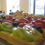  Mixed fruit Tarts