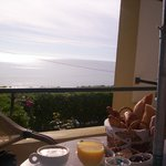  colazione in terrazza..