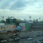 View of Fenway Park from rear of hotel
