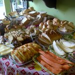  just a small part of the enormous breakfast spread