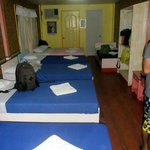 Our dormitory-type room :)