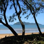 View of Dunk Island from Wongaling Beach