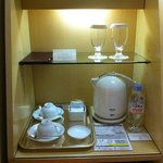  Tea-making facilities complete with complex kettle