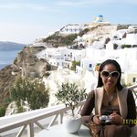 the lovely view of Oia, Santorini