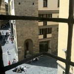  looking down at the little people...feel like a Medici