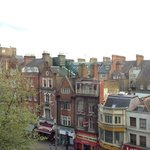  The view from our room - the other side was Kensington Palace.