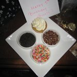 Happy 5th Birthday Card and Cupcake!