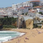 Beach in Old Town, Albufeira