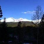 This is Longs Peak view from our room on the balcony.