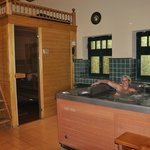 Wellnes, sauna and wirlpool