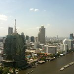  Blick von der executive Lounge auf den Chao Phraya