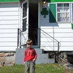The boys loved the Shamrock Motel