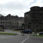  Hotel is on corner next to Porta Nigra