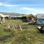 Uros island (one of them anyway)
