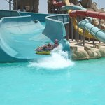 1 of the amazing water slides