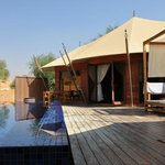 Al Khaimah Tented Pool Villa - private pool