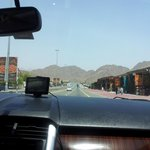  on our way to fujairah