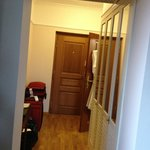  Looking back to the entry door and closet, Rm 25