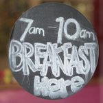 At el punto daily breakfast from 7 to 10 am