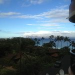  very windy as Maui is always, view from room