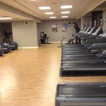  The Omni fitness room in the North Tower is very nice