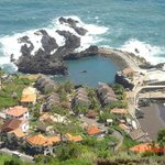  Pools and beach below Casa das Videiras