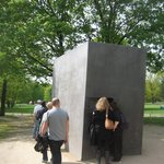  Memorial to the Gay Men murdered and imprisoned in The Holocaust