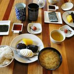Japanese Breakfast - yummy!