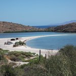  On the way to Mulege...white sandy beaches!!!