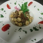  gnocchi trota e tartufo