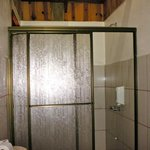 Shower area.