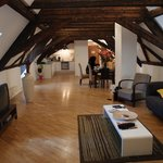 Living room, Attic Apartment
