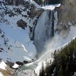 Inspiration Point at Yellowstone Canyon