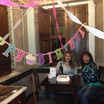 Celebrating my moms birthday in Italia at Hotel Catalani