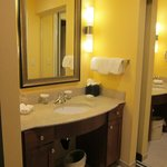 One bedroom King Suite bathroom sink