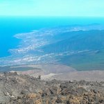  a view of the Tenerife shoreline from the volcano (11)