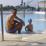  in piscina....