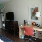 tv console and work desk