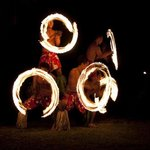 Fire Dancing show on Saturday Nights