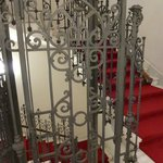 Elegant Ironwork on stairs